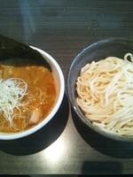 「辛つけ麺(味玉トッピング)」@ぶっこ麺らーめんの写真