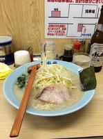「ネギラーメン 醤油650円」@ラーメン青木亭 瀬崎店の写真