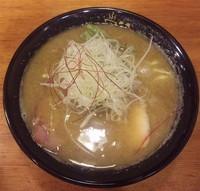 「【限定】 鶏ニボ白湯:850円」@鶏そば きび 目黒店の写真
