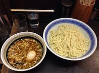 「つけめん+味玉 850+100円」@中華そば べんてんの写真