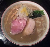 「【限定】 ニボ鶏白湯:850円」@666の写真