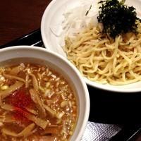 「【平日夜限定】エビ香味つけ麺「反対の賛成なのだ。」」@スタミナラーメン 馬しゃ屋の写真