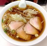 「叉焼ワンタン麺(¥700)」@らーめん亭の写真