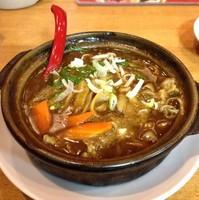 「咖喱刀削麺(¥876)」@西安刀削麺 矢場町店の写真