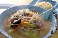 「湯麺」@新富飯店の写真