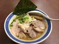 「濃厚鶏白湯ラーメン  クーポンで700円  チャーシュー150円」@濃厚鶏豚骨魚介つけ麺 かず屋の写真