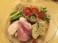 「【限定30食】冷やし煮干し中華(1000円)」@饗 くろ㐂の写真