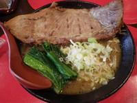 「厚切り炙りチャンスチャーシュー麺」@らー麺's kitchen かわべの写真