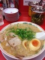 「コク旨ラーメン 味玉  850円」@ラーメン魁力屋 北与野店の写真