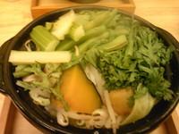 「蒸し炒め野菜(漢盛)¥200 + らーめん」@麺創 玄古 新宿御苑店の写真