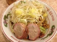 「焼きらーめん・中・スタンダード(850円)」@肉汁らーめん 公 kimiの写真