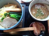 「濃厚魚介つけ麺800円」@麺屋 ほたるの写真
