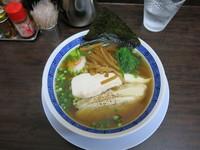 「汁★鰺干し・昆布・鶏の淡麗:750円」@丸直の写真
