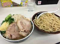 「野菜つけ麺  クーポンで700円」@濃厚鶏豚骨魚介つけ麺 かず屋の写真