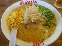 「みそらーめん+背脂ダブル」@八番山ばりきや 安中店の写真