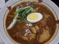 「会津地鶏唐揚カレーラーメン(700円?)」@阿武隈高原SA上り線の写真