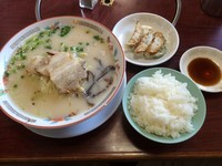 「ラーメンセット/¥1,000」@ざぼんラーメン 与次郎店の写真
