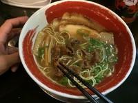 「チャーシュー麺」@徳島ラーメン 麺王 神戸元町店の写真