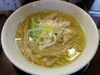 「しおそば 730円」@麺の風 祥気の写真