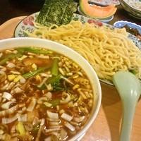 「角煮カレーつけ麺」@天心ラーメン 日暮里店の写真