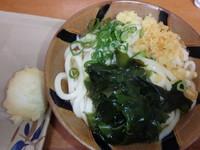 「うどん2玉(230円)半熟卵天(100円)」@竹清の写真