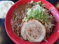 「安養寺カレーらーめん(小ライス付き) ¥830」@麺'sBLAND 文蔵BLACKの写真