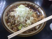 「天ぷらそば【400円】」@立食い 寒川そばの写真