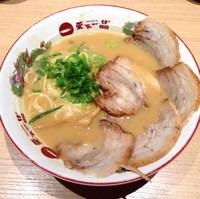 「【店舗限定】三河豚バラチャーシュー(¥1,019)」@天下一品 名古屋錦店の写真