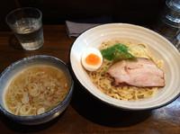 「鶏煮干しつけ麺  塩  800円」@とんこつ屋 秀虎の写真