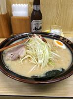 「味噌ラーメン中」@ラーメン青木亭 瀬崎店の写真