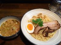 「鶏煮干しつけ麺  味噌  850円」@とんこつ屋 秀虎の写真