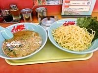 「醤油つけ麺(大盛)900円」@山岡家 谷田部店の写真