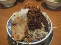「うま辛ふじ麺味噌850円(味濃い目&脂多め&野菜ちょい増し)」@優勝軒 柏店の写真