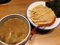 「濃厚煮干つけ麺(大盛)」@麺屋 狢〜むじな〜の写真
