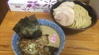「特製つけ蕎麦 中  980円」@中華蕎麦 サンジの写真