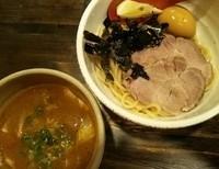 「特製つけ麺+ごはん割り (140803)」@製麺処 蔵木の写真