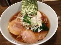 「支那そば+味玉900円」@日本橋 製麺庵 なな蓮の写真