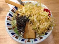 「黒ゴマ担々麺 (角煮、ネギ、864円、クーポン利用)」@とんこつらーめん七志 中山店の写真