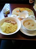 「トンコツつけ麺、チャーシュー2枚トッピング」@バーミヤン 飛田給駅北口店の写真