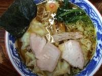「ワンタン麺 840円」@とら食堂の写真