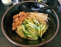 「濃厚冷やしタンタン麺(夏季限定) \780」@ハッスルラーメンホンマ 浅草店の写真
