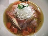 「【限定】冷やし煮干しラーメン(850円)」@らーめん愉悦処 鏡花の写真