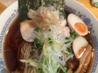 「鶏節魚介冷やしそば  ¥750」@麺魂 39の写真