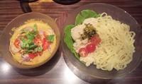 「【限定】 冷やしラクサつけ麺:870円」@麺屋武蔵 鷹虎の写真