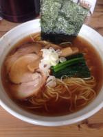 「醤油ラーメン」@らーめんHANABIの写真