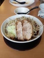 「二郎ブラック(ニンニク)」@中国麺飯店 王虎の写真
