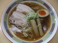 「昔ながらのらーめん(720円)」@煮干鰮らーめん 圓の写真