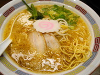 「中華そば こく味 麺硬め」@中華そば ちから 八丁堀店の写真