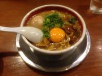 「徳島ラーメンミニサイズ」@ラーメン東大 京都店の写真