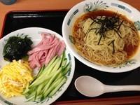 「トマト冷し麺(期間限定)」@日高屋 両国東口店の写真